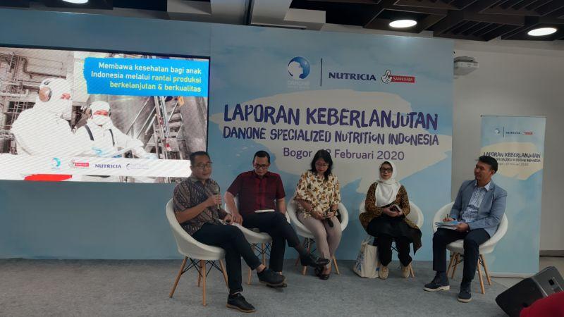 Danone SN Indonesia Meluncurkan Laporan Berkelanjutan 2017 – 2018